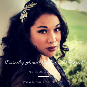 Dorothy Anne's Debut CD Project